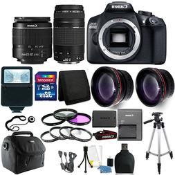 Canon EOS 1300D/T6 18MP DSLR Camera + 18-55mm + 75-300mm Len