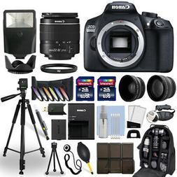 Canon EOS 1300D / T6 DSLR Camera + 18-55mm Lens + 24GB Multi