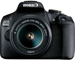 Canon EOS 2000D / Rebel T7 DSLR Camera w/ 18-55mm DC III Len