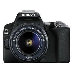 Canon EOS 250D 24.2MP 4K Digital SLR Camera with 18-55mm Len