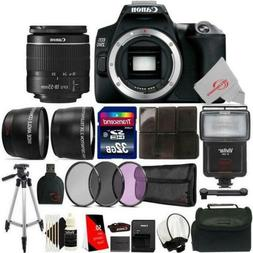 Canon EOS 250D / Rebel SL3 24.1MP 4K Digital SLR Camera + 32