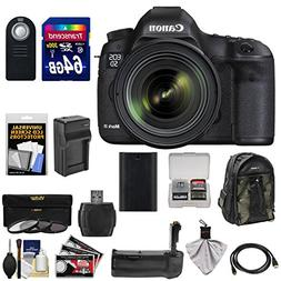 Canon EOS 5D Mark III Digital SLR Camera with EF 24-70mm f/4