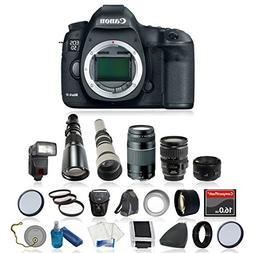 Canon EOS 5D Mark III Digital SLR Camera Bundle with Canon E