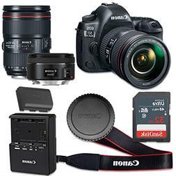 Canon EOS 5D Mark IV 30.4 MP CMOS Digital SLR Camera with 3.