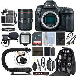 Canon EOS 5D Mark IV DSLR Camera & 24-105mm f/4L II USM Lens