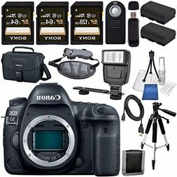 Canon EOS 5D Mark IV DSLR Camera  1483C002 + LPE-6 Lithium I