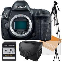 Canon EOS 5D Mark IV DSLR Camera, Memory Card, Camera Case,