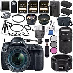 Canon EOS 5D Mark IV DSLR Camera with 24-70mm f/4L Lens 1483