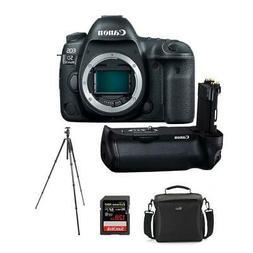 Canon EOS 5D Mark IV DSLR Body With Canon BG-E20 Battery Gri