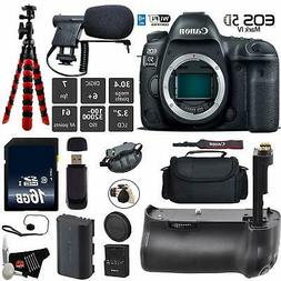 Canon EOS 5D Mark IV DSLR Camera  + Professional Battery Gri
