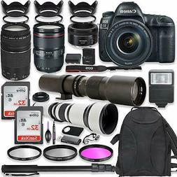 Canon EOS 5D Mark IV DSLR Camera w/  Lenses and Professional