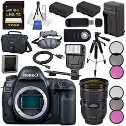 Canon EOS 5D Mark IV DSLR Camera  1483C002 + EF 24-70mm f/2.