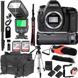 Canon EOS 5D Mark IV Body Only + 128GB Memory + Canon Deluxe
