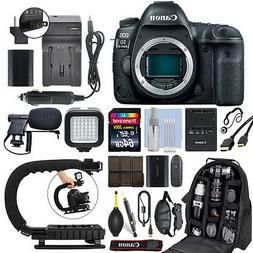 Canon EOS 5D Mark IV 30.4MP Full Frame 4K DSLR Camera Body +