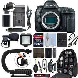 Canon EOS 5D Mark IV 30.4MP Full Frame 4K DSLR Camera Body +