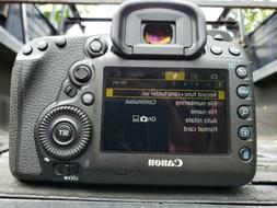 Canon EOS 5D Mark IV full frame SLR Camera - Black, manual a