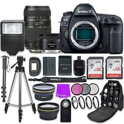 Canon EOS 5D Mark IV Digital SLR Camera with Canon EF 50mm f