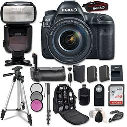 Canon EOS 5D Mark IV Digital SLR Camera Bundle with EF 24-10