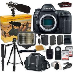 Canon EOS 5D Mark IV Digital SLR Camera Bundle  + Accessory