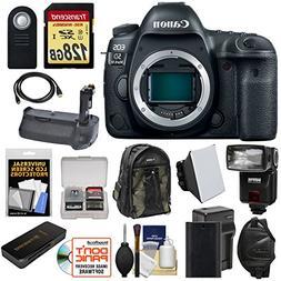 Canon EOS 5D Mark IV 4K Wi-Fi Digital SLR Camera Body with 1