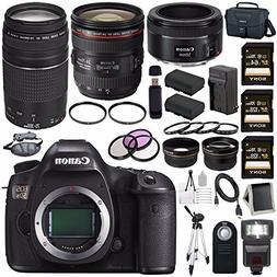 Canon EOS 5DS 5D S DSLR Camera + EF 24-70mm f/4L IS USM Lens