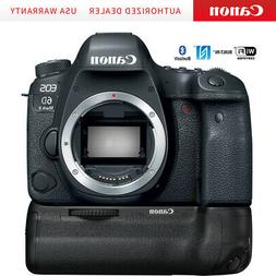 Canon EOS 6D Mark II 26.2MP Full-Frame DSLR Camera  + BG-E21