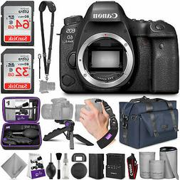 Canon EOS 6D Mark II DSLR Camera Body  with Accessories Bund