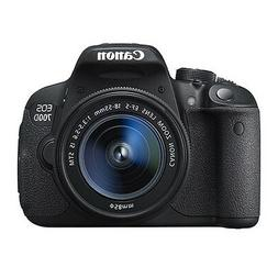 Canon EOS 700D Digital SLR Camera with 18-55mm EF-S IS STM L