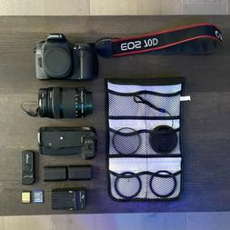 Canon EOS 70D 20.2 MP DSLR Camera Kit with EF-S 18-135mm f/3