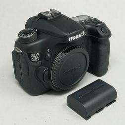 Canon EOS 70D 20.2MP Digital SLR Camera - Black  - 11K Click