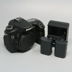 Canon EOS 70D 20.2MP Digital SLR Camera - Black