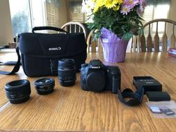 eos 70d camera bundle with 3 lenses