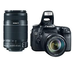 Canon EOS 70D 20.2 MP DSLR Camera with Dual Pixel CMOS AF an
