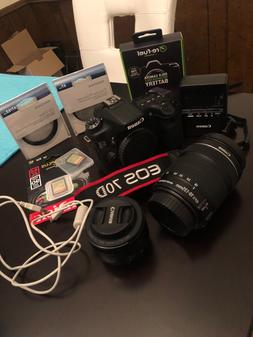 eos 70d dslr camera 18 135mm lens