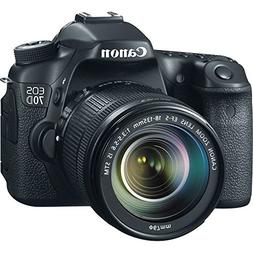 Canon EOS 70D DSLR Camera with 18-135mm f/3.5-5.6 STM Lens a