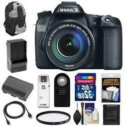 Canon EOS 70D Digital SLR Camera & EF-S 18-135mm IS STM Lens