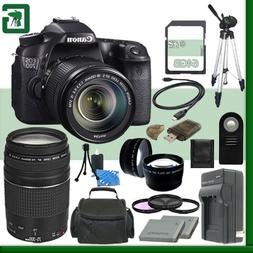 Canon EOS 70D Digital SLR Camera Kit with 18-135mm IS STM Le