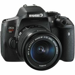 Canon EOS 750D/Rebel T6i DSLR Camera with EF-S 18-55mm IS ST