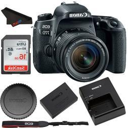 Canon EOS 77D DSLR Camera with 18-55mm Lens+ Basic bundle-24