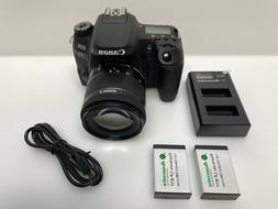 Canon - EOS 77D DSLR Camera with EF-S 18-55mm IS STM Lens -