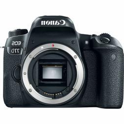 Canon EOS 77D 24.2 MP Digital SLR Camera  Memory & Flash Kit