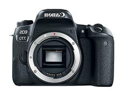 Canon EOS 77D 24.2 MP Digital SLR Camera  Memory & Flash Kit