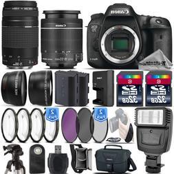 Canon EOS 7D Mark II DSLR DIGIC 6 Camera + 18-55mm IS STM +