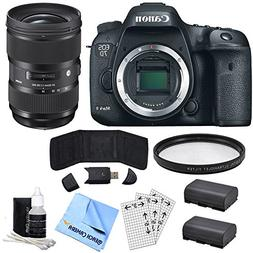 Canon EOS 7D Mark II 20.2MP HD 1080p Digital SLR Camera - Bo