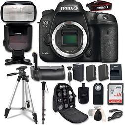 Canon EOS 7D Mark II Digital SLR Camera Bundle with W-E1 Wi-