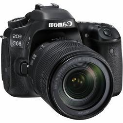 Canon EOS 80D 18-135mm DSLR Camera Kit 1263C006