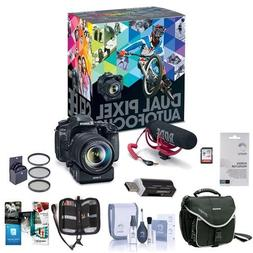 Canon EOS 80D DSLR Video Creator Kit - with EF-S18-135/3.5-5