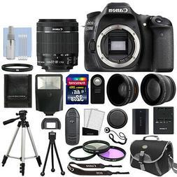 Canon EOS 80D Body Only Digital SLR Camera