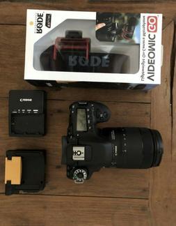 Canon EOS 80D Video Creator Bundle