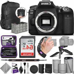 Canon EOS 90D DSLR Camera Body with Altura Photo Advanced Ac